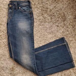 Womens Silvers Suki Boot Cut Jeans